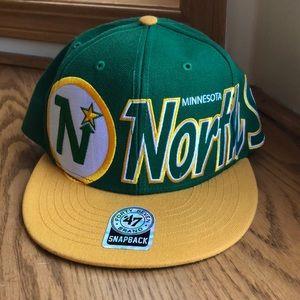 Never Worn Minnesota Northstars SnapBack